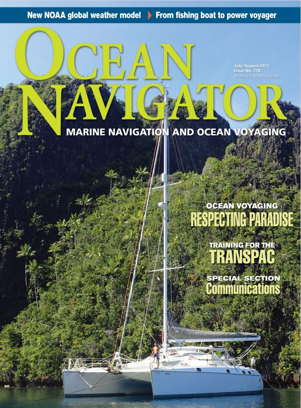 Ocean Navigator - Digital Magazine Cover