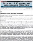Federal & Foundations Assistance Monitor - Digital Magazine