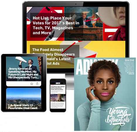 Adweek - Print + Digital Magazine