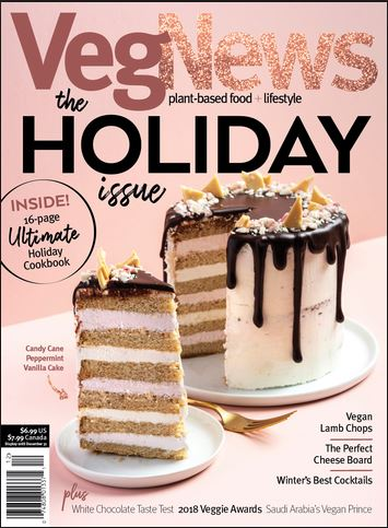 VegNews - Print + Digital Magazine