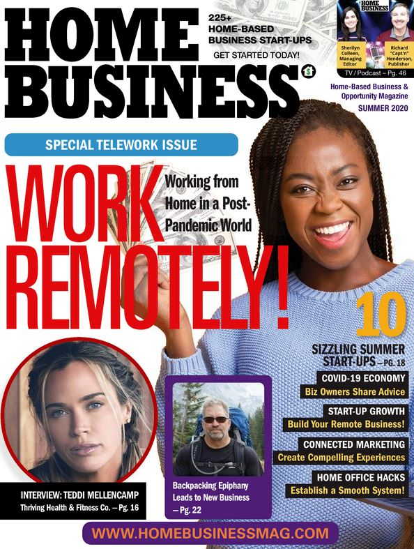 Home Business - Digital Magazine Cover