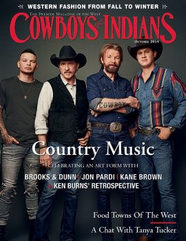 Cowboys & Indians Magazine Cover