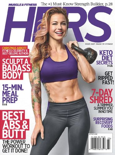 Muscle & Fitness Hers - Digital Magazine Cover