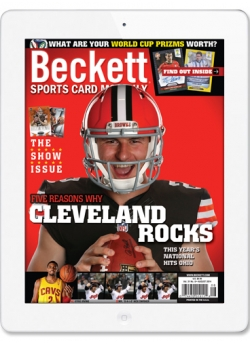 Beckett Sports Card Monthly - Digital Magazine