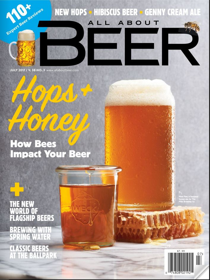 All About Beer - Digital Magazine Cover