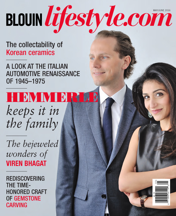 Blouin Lifestyle - Digital Magazine Cover