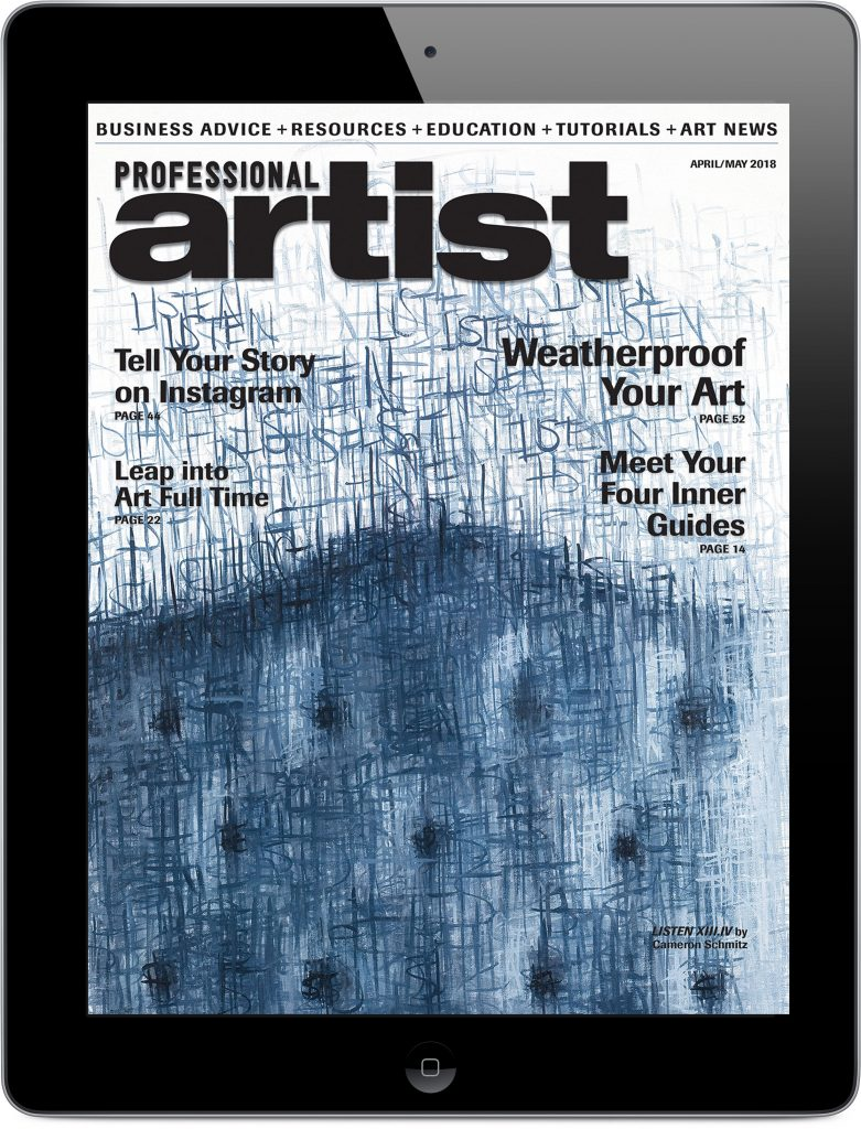 Professional Artist - Digital Magazine