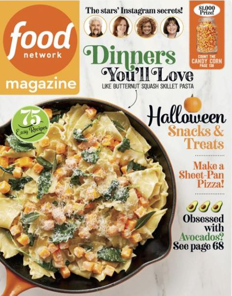 Food Network - Print + Digital Magazine