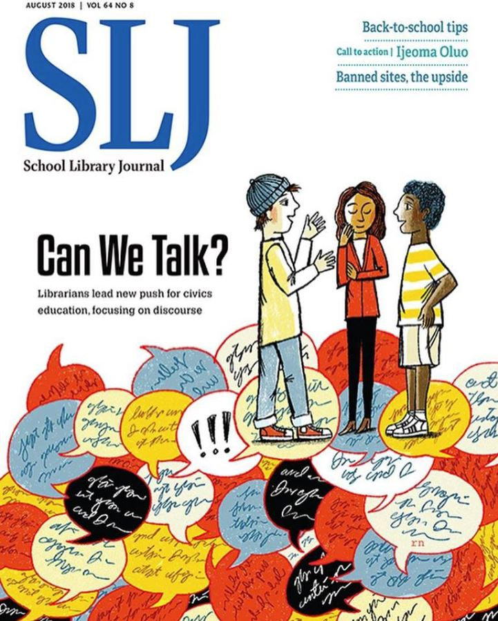School Library Journal - Print + Digital Magazine Cover