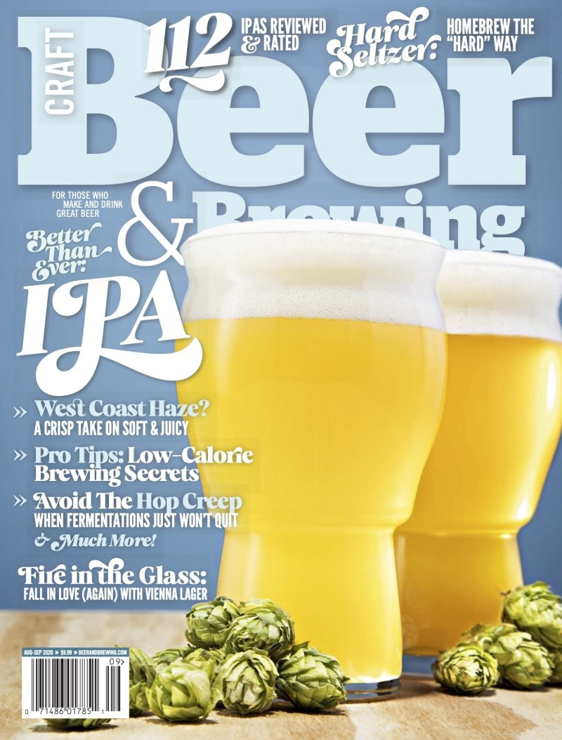 Craft Beer & Brewing - Print + Digital Magazine Cover