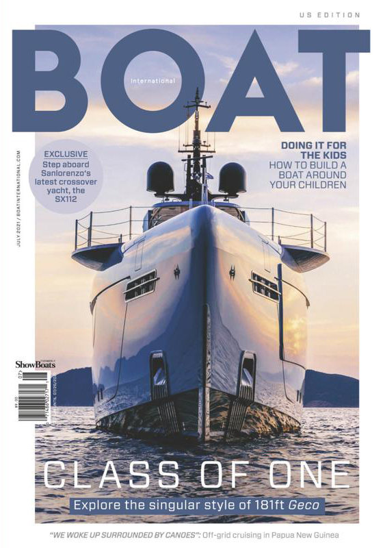 BOAT International US Edition Magazine