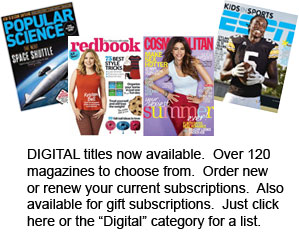 NEW - Digital subscriptions now available